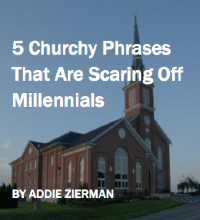 5 Churchy Phrases by Addie Zierman